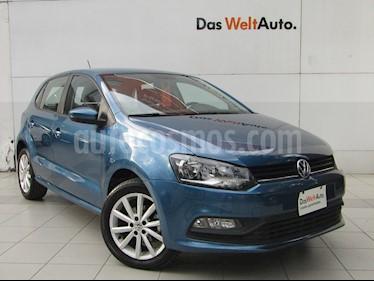 Foto venta Auto usado Volkswagen Polo Hatchback Design & Sound (2019) color Azul precio $218,000