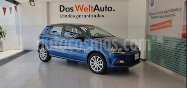 Volkswagen Polo Hatchback Design & Sound usado (2019) color Azul precio $239,000
