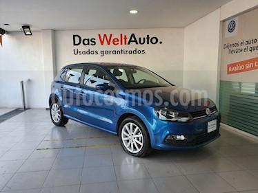 Foto venta Auto usado Volkswagen Polo Hatchback Disign & Sound Tiptronic (2019) color Azul precio $249,000