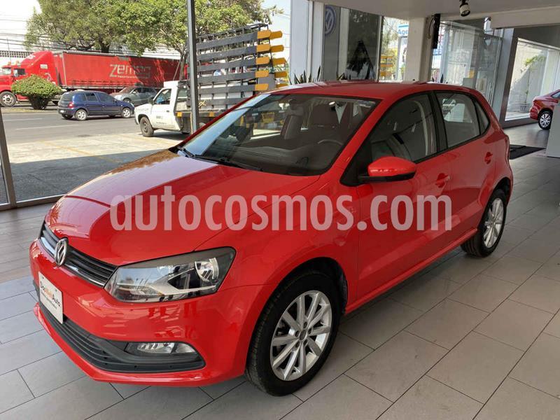 Volkswagen Polo Hatchback Design & Sound usado (2020) color Rojo precio $215,000