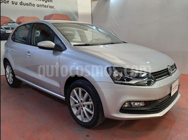 Volkswagen Polo Hatchback Disign & Sound Tiptronic usado (2019) color Plata Reflex precio $222,000