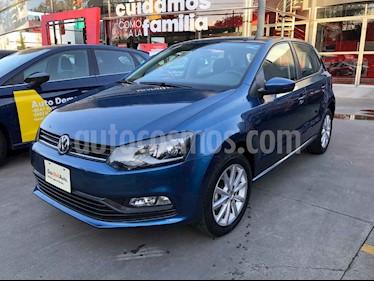 Volkswagen Polo Hatchback Design & Sound usado (2019) color Azul precio $225,000
