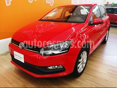 Volkswagen Polo Hatchback Design & Sound usado (2019) color Rojo precio $218,000