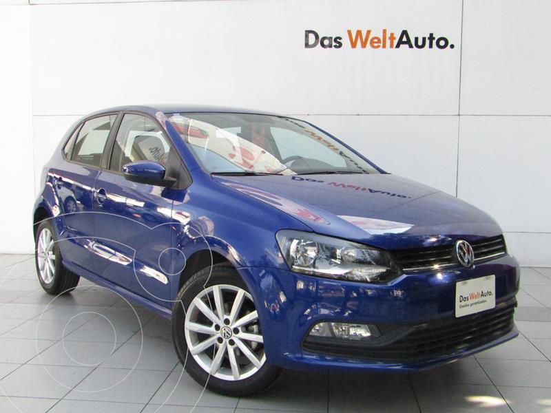 Foto Volkswagen Polo Hatchback Design & Sound Tiptronic usado (2020) color Azul precio $263,000