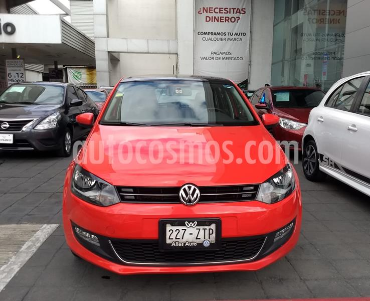 Volkswagen Polo Hatchback Highline Aut usado (2014) color Rojo Flash precio $170,000