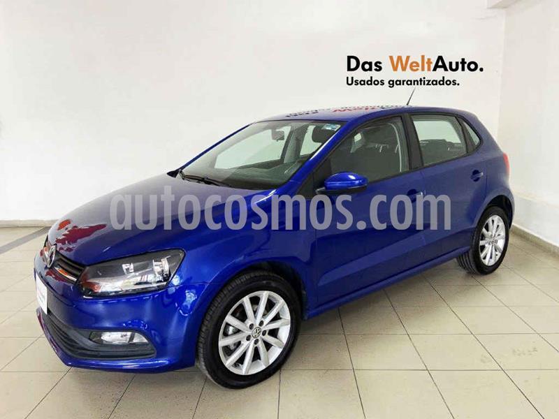 Volkswagen Polo Hatchback Disign & Sound Tiptronic usado (2019) color Azul precio $214,008