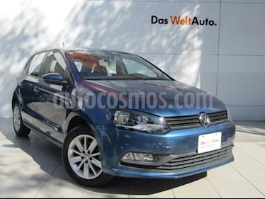 Volkswagen Polo Hatchback 1.6L Aut usado (2018) color Azul precio $175,000