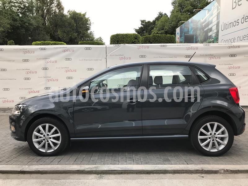 Volkswagen Polo Hatchback Startline Tiptronic usado (2020) color Gris precio $233,000