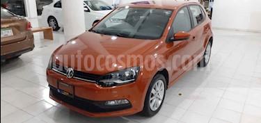 Volkswagen Polo Hatchback 1.6L Tiptronic usado (2018) color Naranja precio $158,900