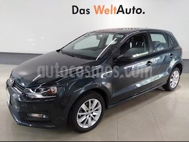 Volkswagen Polo Hatchback 1.6L Tiptronic usado (2018) color Gris Carbono precio $218,000