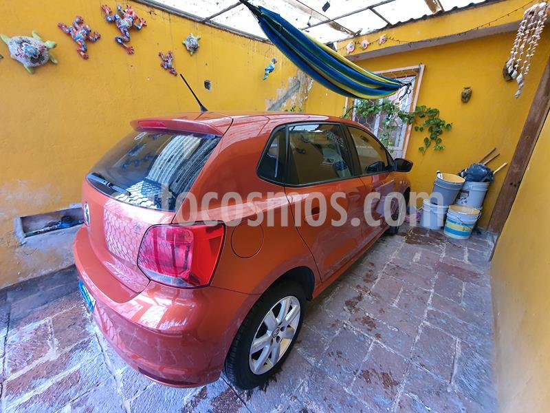 Volkswagen Polo Hatchback 1.6L usado (2015) color Naranja Cobre precio $100,000