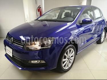 Volkswagen Polo Hatchback Design & Sound usado (2019) color Azul precio $215,000