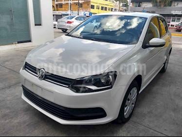 Volkswagen Polo Hatchback Startline usado (2019) color Blanco precio $179,900