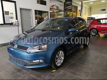 Volkswagen Polo Hatchback 1.6L usado (2018) color Azul precio $178,200