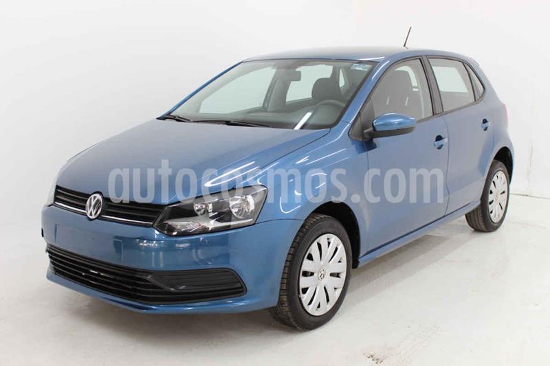 Volkswagen Polo Hatchback Startline Tiptronic usado (2018) color Azul precio $170,000