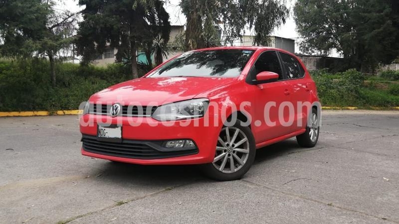 Volkswagen Polo Hatchback 1.6L Tiptronic usado (2019) color Rojo precio $220,000