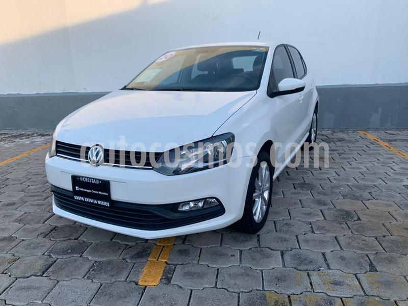 Volkswagen Polo Hatchback Design & Sound usado (2020) color Blanco Candy precio $220,000