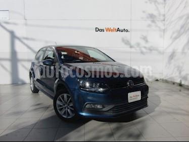 foto Volkswagen Polo Hatchback 1.6L Aut usado (2018) color Azul precio $205,000