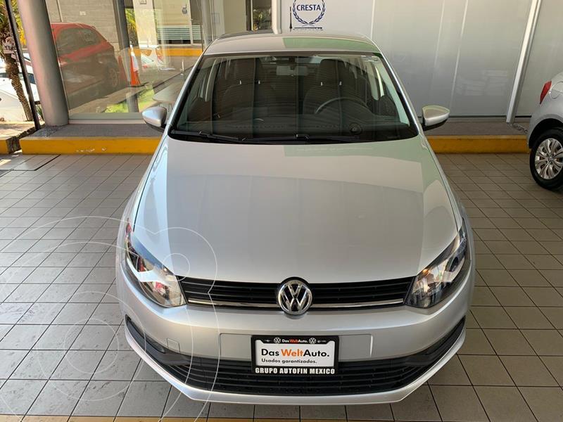 Volkswagen Polo Hatchback Design & Sound Tiptronic usado (2020) color Plata precio $244,900