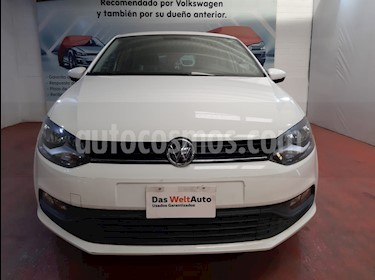 foto Volkswagen Polo Hatchback Disign & Sound Tiptronic usado (2019) color Bronce precio $222,000