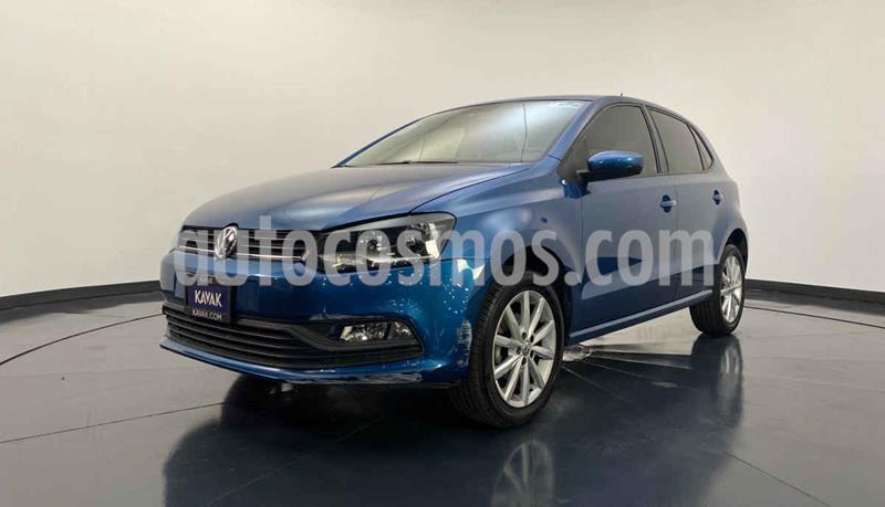 Volkswagen Polo Hatchback Startline Tiptronic usado (2019) color Azul precio $209,999