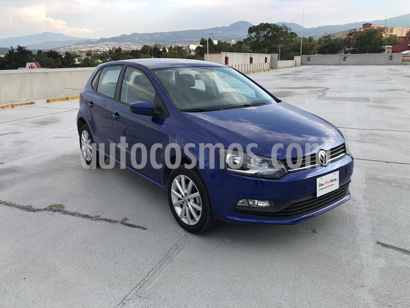 Volkswagen Polo Hatchback Disign & Sound Tiptronic usado (2019) color Azul precio $218,000