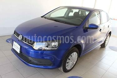 Volkswagen Polo Hatchback Startline usado (2019) color Azul precio $210,000