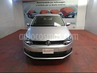 Volkswagen Polo Hatchback Design & Sound usado (2019) color Plata Reflex precio $213,000