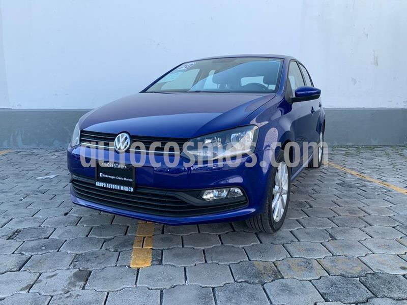 Volkswagen Polo Hatchback Disign & Sound Tiptronic usado (2020) color Azul precio $214,900
