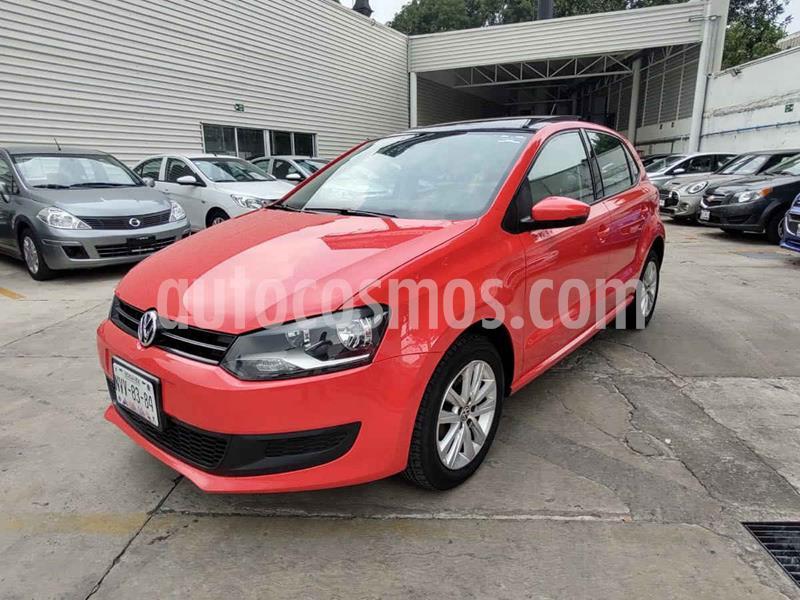Volkswagen Polo Hatchback Comfortline Aut usado (2014) color Rojo precio $145,000