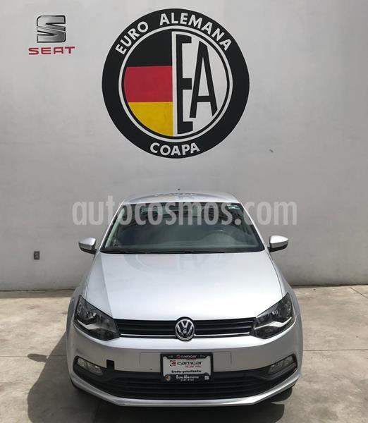 Volkswagen Polo Hatchback 1.6L Tiptronic usado (2018) color Plata precio $200,000