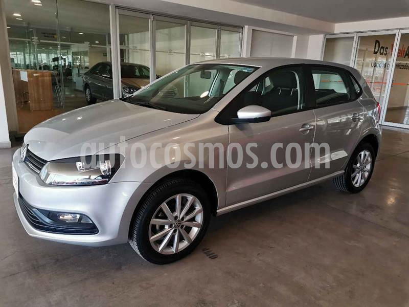 Volkswagen Polo Hatchback Design & Sound usado (2020) color Plata precio $209,900