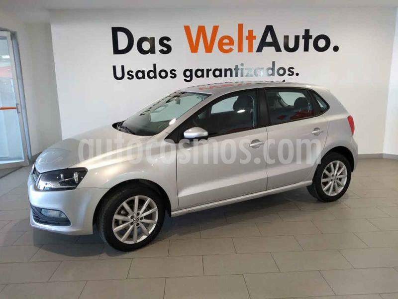 Volkswagen Polo Hatchback Disign & Sound Tiptronic usado (2019) color Plata precio $225,500
