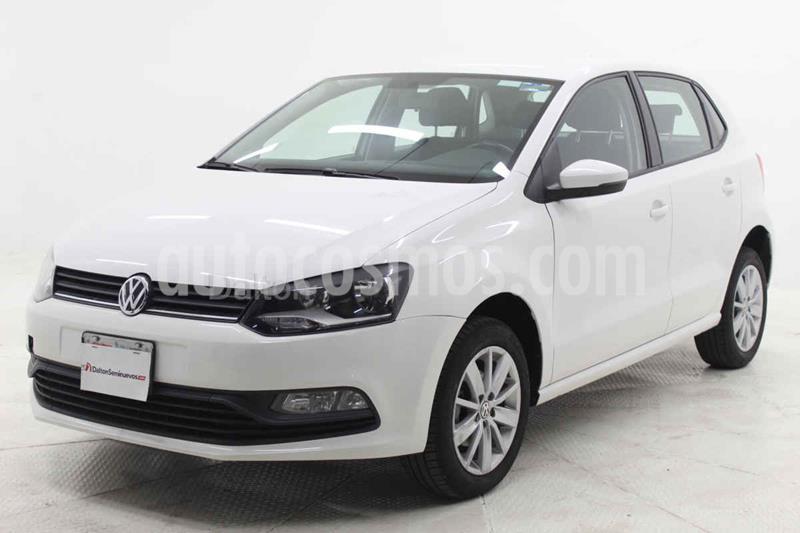 Volkswagen Polo Hatchback 1.6L Aut usado (2018) color Blanco precio $174,000