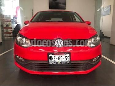 Volkswagen Polo Hatchback 5P HB 1.6L TM5 RA-15 usado (2016) color Rojo precio $155,500