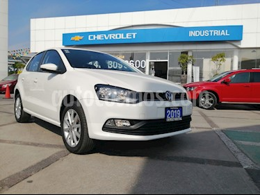 Volkswagen Polo Hatchback Comfortline usado (2019) color Blanco Candy precio $220,000