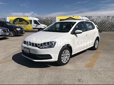 Volkswagen Polo Hatchback Startline usado (2019) color Plata precio $177,900