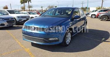 Volkswagen Polo Hatchback 1.6L Tiptronic usado (2018) color Azul precio $152,800