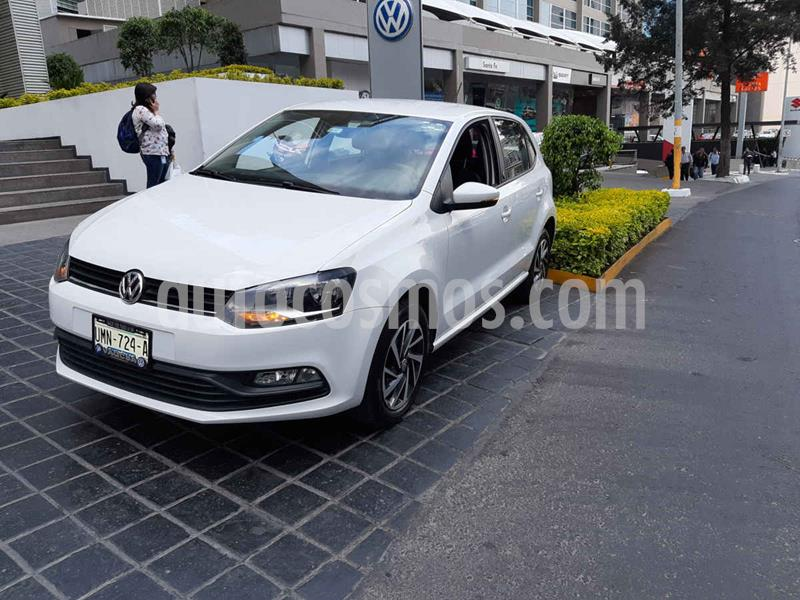 Volkswagen Polo Hatchback Sound usado (2018) color Blanco precio $169,111