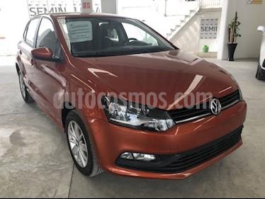 Volkswagen Polo Hatchback 1.6L Tiptronic usado (2017) color Naranja Cobre precio $185,000