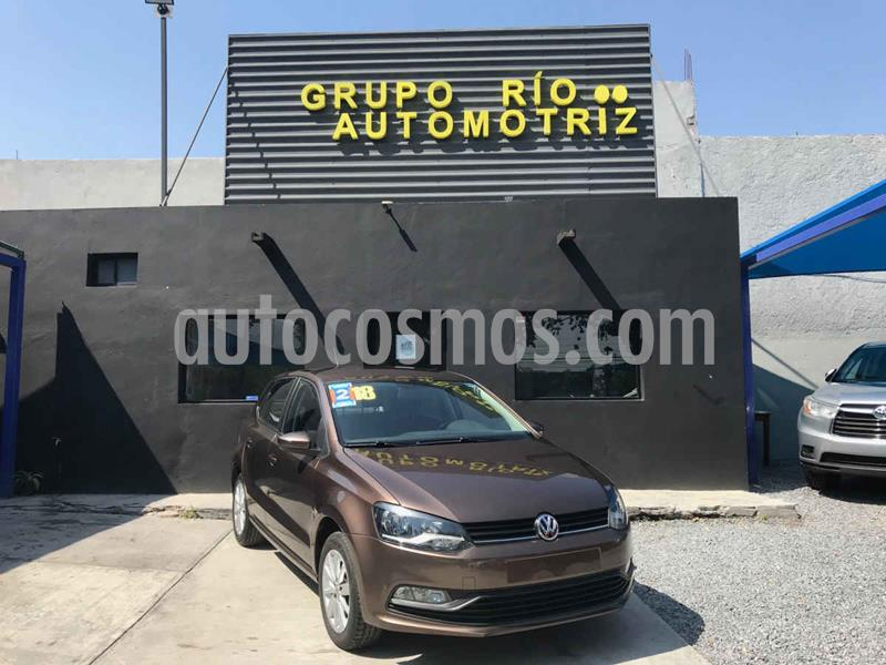 Volkswagen Polo Hatchback Sound Tiptronic usado (2018) color Cafe precio $174,000