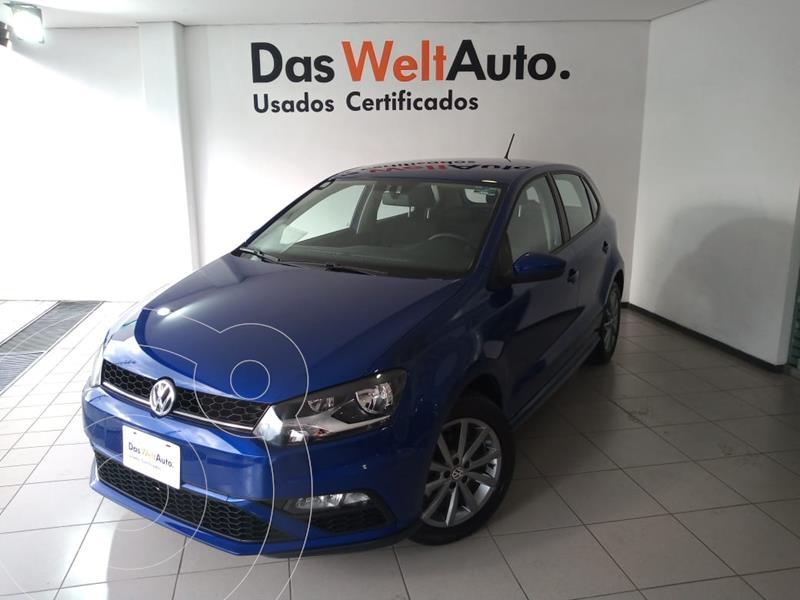 Foto Volkswagen Polo Hatchback Comfortline Plus Tiptronic usado (2020) color Azul precio $269,000
