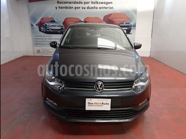 Volkswagen Polo Hatchback Disign & Sound Tiptronic usado (2019) color Gris Carbono precio $219,000