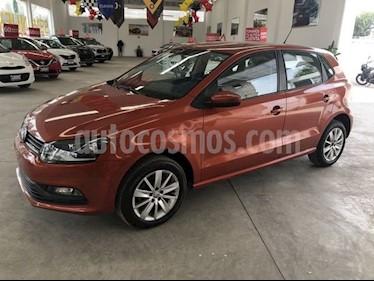 Volkswagen Polo Hatchback 1.6L Tiptronic usado (2018) color Naranja Cobre precio $185,000