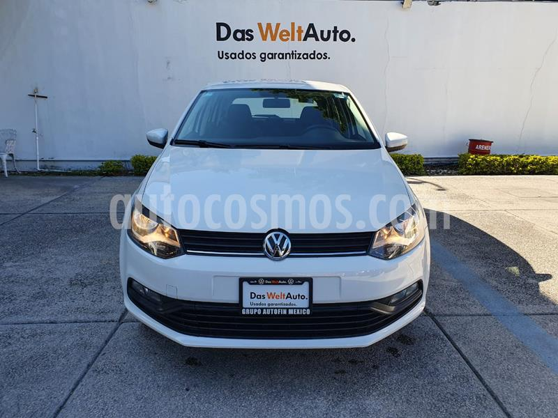 Volkswagen Polo Hatchback Disign & Sound Tiptronic usado (2019) color Blanco precio $234,900
