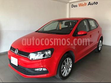 Volkswagen Polo Hatchback 1.6L usado (2019) color Rojo precio $210,000