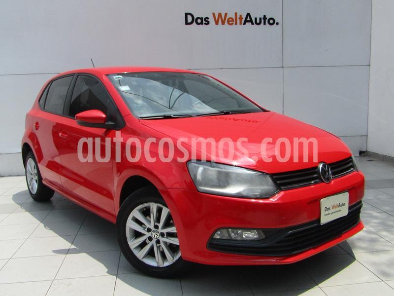 Volkswagen Polo Hatchback 1.2L TSI Aut usado (2017) color Rojo Flash precio $189,000