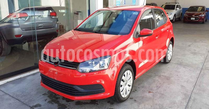 Volkswagen Polo Hatchback Startline usado (2019) color Rojo precio $154,900