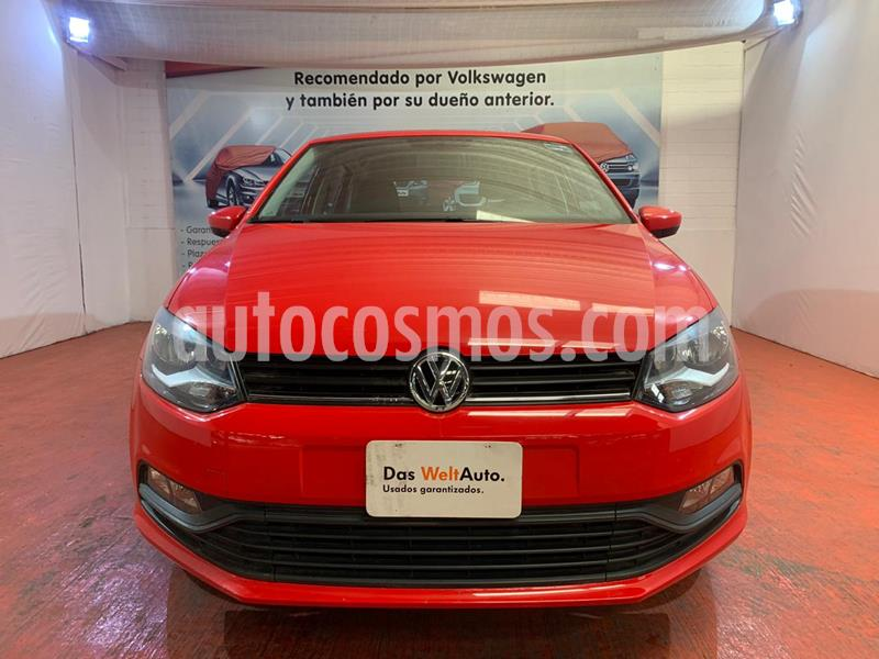 Volkswagen Polo Hatchback Design & Sound usado (2020) color Rojo Flash precio $212,000