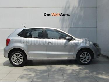Volkswagen Polo Hatchback 1.6L usado (2017) color Plata Reflex precio $169,000
